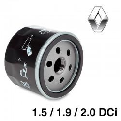 FILTRE à HUILE - Renault 1.5, 1.9, 2.0 DCi pour Mégane 2, Scenic 2, Kangoo 2, Laguna 2