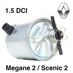 FILTRE à GASOIL - 1.9 DCi pour Mégane 2, scenic 2, laguna 2