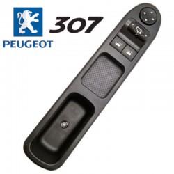 Boutons lève vitres pour Peugeot 307 (côté conducteur - 4 vitres) 6554KT